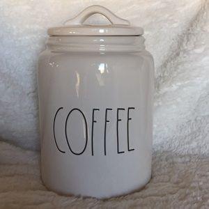 "Rae Dunn ""COFFEE"" canister"